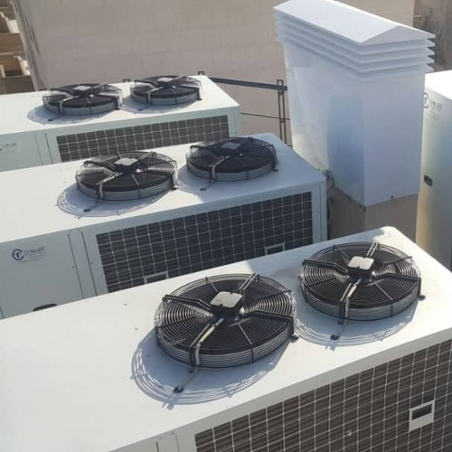 ZCF - Air conditioning chillers